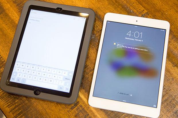 Case iPad Mini เปิดปิดแป้่นปุ่มสัมผัสนูนได้