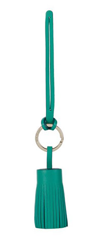 Mulberry Tassel Key Ring Lamb Nappa
