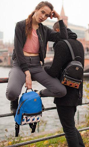กระเป๋า MCM สีน้ำเงิน, กระเป๋า MCM สีดำ