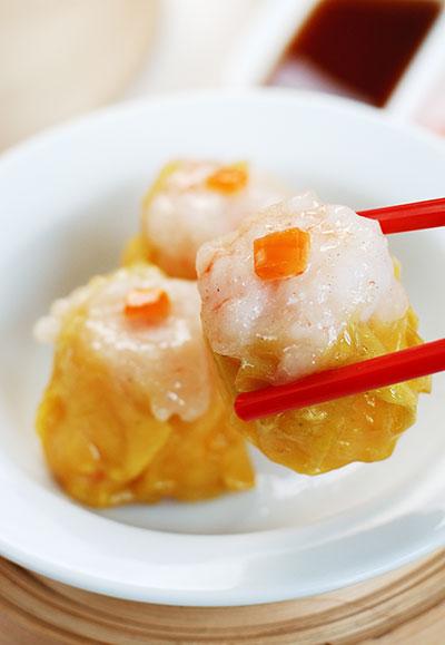 ขนมจีบกุ้ง ฮ่องกงนู้ดเดิ้ล อาหารสั่งออนไลน์