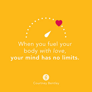 คำคม เมื่อคุณเติมเต็มร่างกายด้วยความรัก จิตใจของคุณจะเปี่ยมไปด้วยพลังไม่มีที่สิ้นสุด