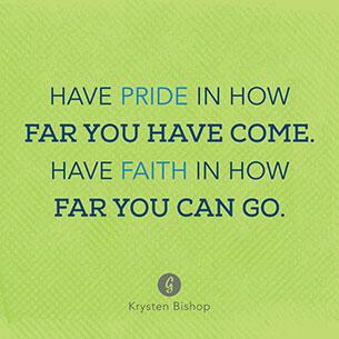 คำพูดสร้างแรงบันดาลใจ จงภูมิใจที่คุณมาไกลถึงขนาดนี้ จงศรัทธาในก้าวต่อไปของตัวเอง
