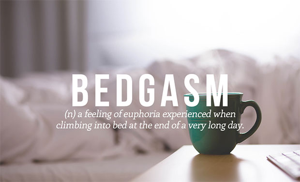 คำศัพท์เกิดใหม่ Bedgasm