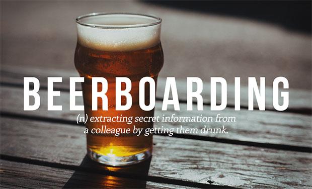 คำศัพท์เกิดใหม่ Beerboarding