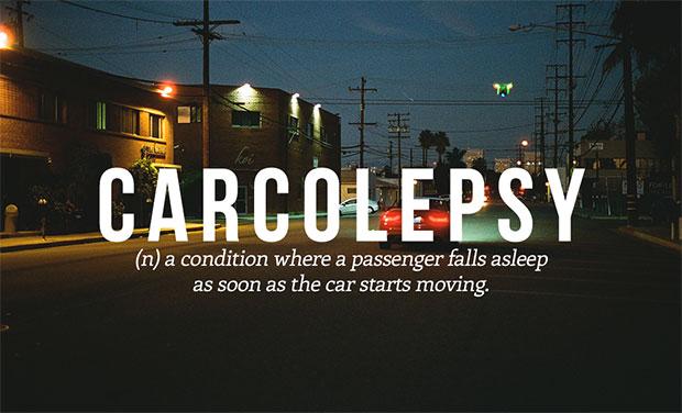 คำศัพท์เกิดใหม่ Carcolepsy