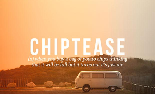 คำศัพท์เกิดใหม่ Chiptease