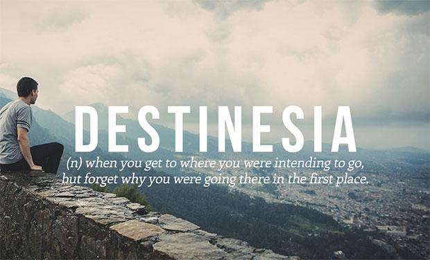 คำศัพท์เกิดใหม่ Destinesia