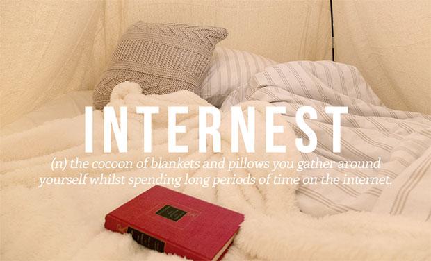 คำศัพท์เกิดใหม่ Internest