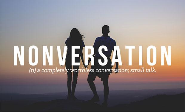 คำศัพท์เกิดใหม่ Nonversation