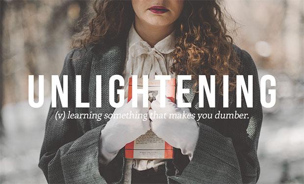 คำศัพท์เกิดใหม่ Unlightening