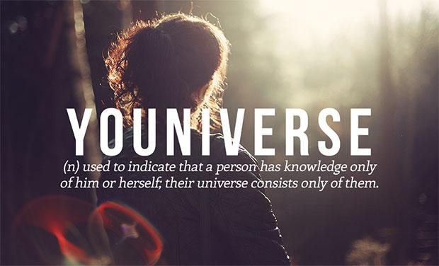 คำศัพท์เกิดใหม่ Youniverse