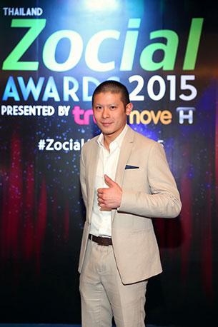 งาน Thailand Zocial Awards 2015 by TrueMove H