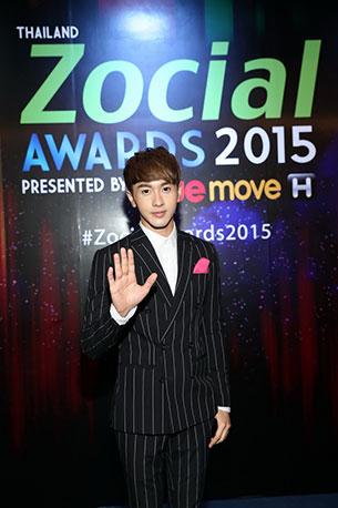 ณัฏฐ์ ทิวไผ่งาม Thailand Zocial Awards 2015