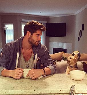 ผู้ชายกับสุนัข