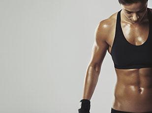 ผู้หญิงแข็งแรงสไตล์นักกีฬา