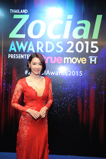 มุกกี้ แซ่บ Thailand Zocial Awards 2015