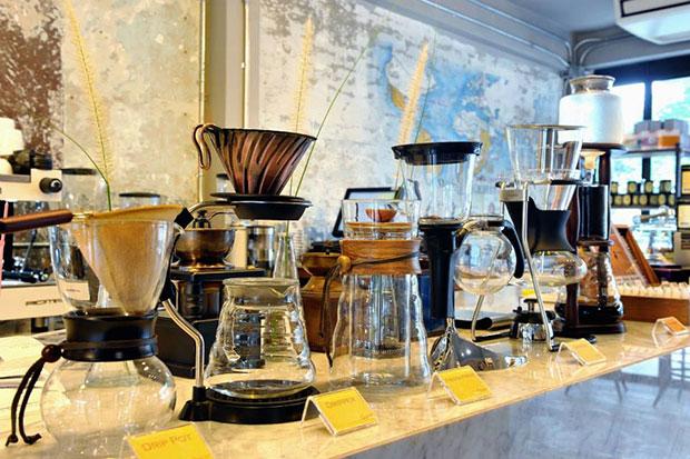ร้านกาแฟแถวสถานีรถไฟฟ้าพญาไท