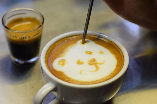 ร้านกาแฟแถวสถานีรถไฟฟ้าราชเทวี B Story Cafe