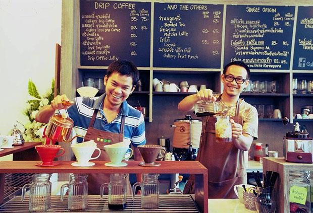 ร้านกาแฟ Gallery Coffee Drip