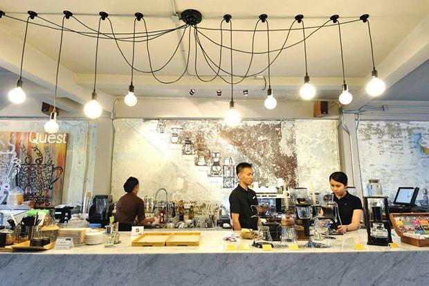 ร้านกาแฟ Quest Connaisseur Cafe