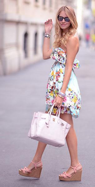 ชุดเดรสสั้น 20 ลุคแฟชั่น Short Dress