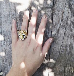 แหวนรูปชีตาห์