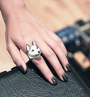 แหวนรูปหมาไซบีเรียน ฮัสกี้