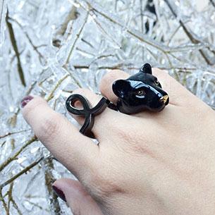 แหวนรูปเสือแพนเตอร์