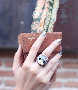 แหวนรูปแมวสก๊อตติสโฟลด์
