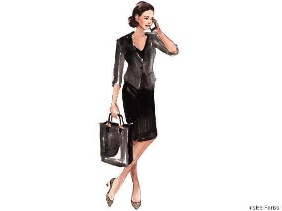 ใส่เดรสสีดำสไตล์ Business Formal