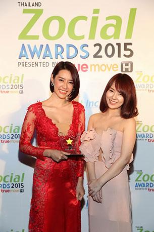 Thailand Zocial Awards 2015 มุกกี้ แซ่บ