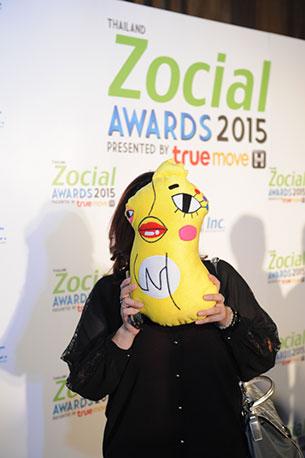 Thailand Zocial Awards 2015 อีเจี๊ยบ เลียบด่วน