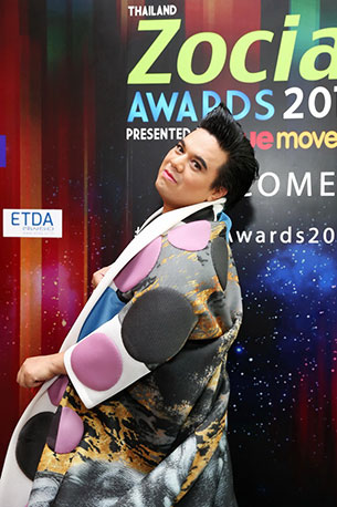 Thailand Zocial Awards 2015 เอ ศุภชัย