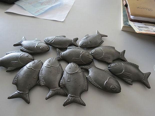 ปลาเหล็กลัคกี้ แก้โรคโลหิตจาง