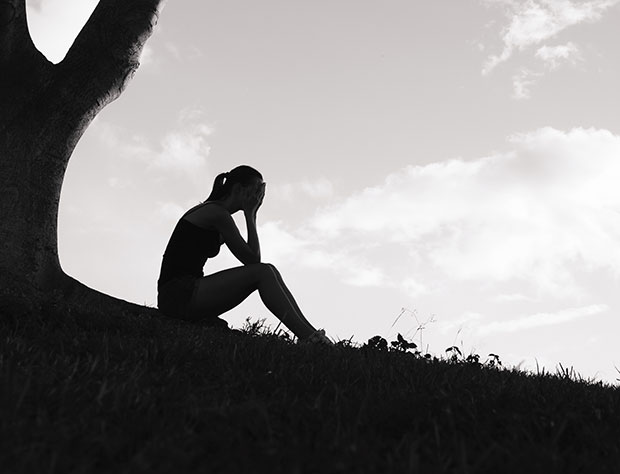 ผู้ป่วยโรคซึมเศร้ามักรู้สึกสิ้นหวังและโดดเดี่ยว