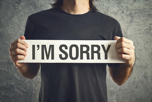 เลิกขอโทษและรู้สึกผิดกับเรื่องไม่เป็นเรื่องซักที