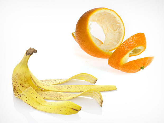 คุณประโยชน์ของเปลือกส้มและเปลือกกล้วย