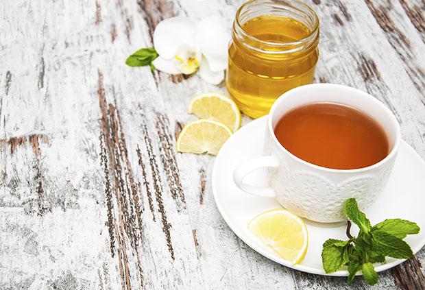 ดื่มน้ำผึ้งมะนาวอุ่นทุกเช้า