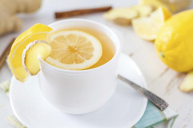 ดื่มน้ำผึ้งมะนาวอุ่น