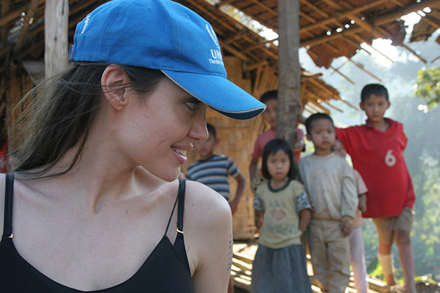 คำสุนทรพจน์ของ Angelina Jolie เรื่องสิทธิสตรี