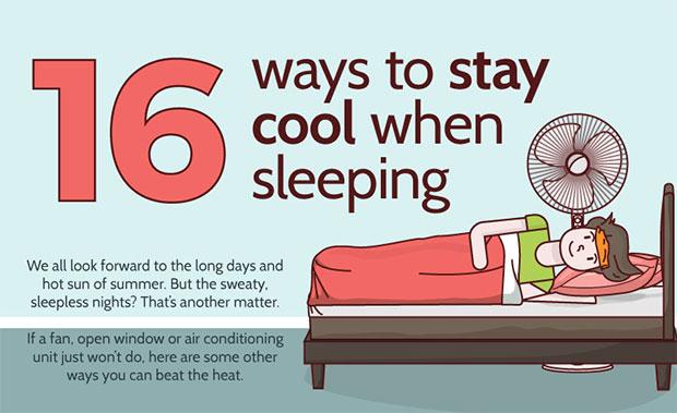 วิธีประหยัดพลังงานและทำให้เย็นสบายยามค่ำคืน