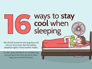 วิธีประหยัดพลังงานและรักษาอุณหภูมิให้เย็นสบายเวลากลางคืน