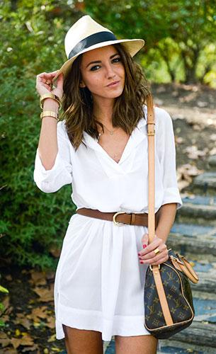 Shirt Dress Zara, แจ็คเก็ต Mango, รองเท้า Mango, กระเป๋า Louis Vuitton
