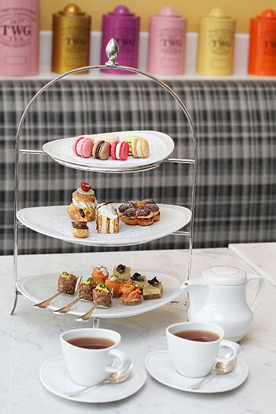 ทานขนมหวาน จิบน้ำชา โรงแรมเซ็นทารา แกรนด์ เซ็นทรัลเวิลด์