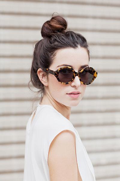 แว่นตากันแดด ไว้ถ่ายรูปแบบสาวฮิปสเตอร์