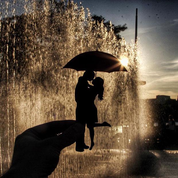 น้ำพุ Southbank ลอนดอน