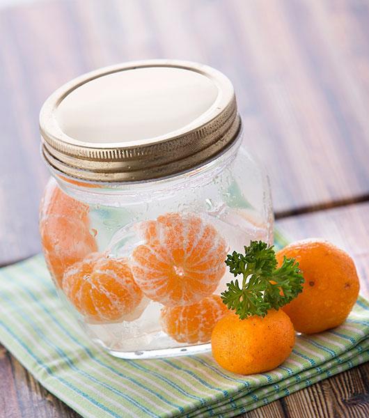 ส้มในน้ำ