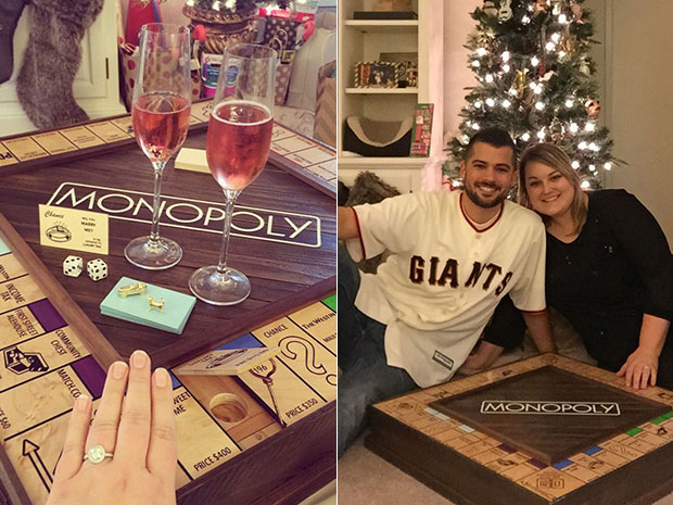 หนุ่มเซอร์ไพรส์ขอสาวแต่งงานด้วยเกมเศรษฐี