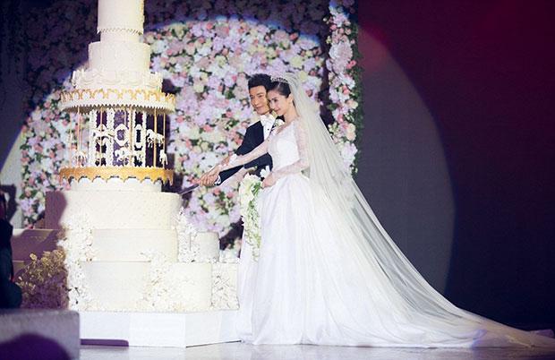เค้กแต่งงานสุดหรู