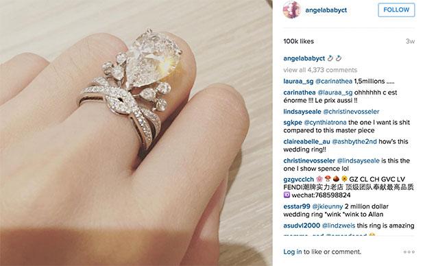 แหวนแต่งงานของแองเจลาเบบี้